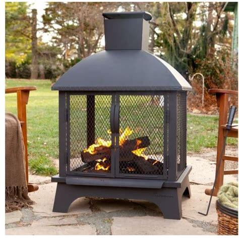outdoor patio fireplace back yard pit wood burning