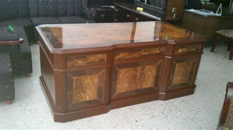 escritorios usados df escritorio provenzal modelo lincoln en madera fina
