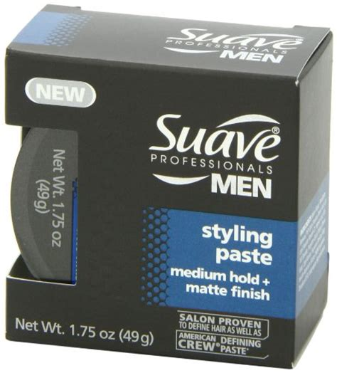 best mens matte styling paste suave professionals men styling paste medium hold matte