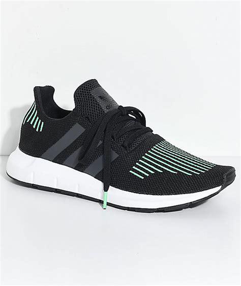 Adidas Running Run adidas run utility black white shoes zumiez