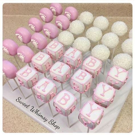 Cake Pop Ideas For Baby Shower by Baby Shower Cake Pops Baby Shower Gender Reveal
