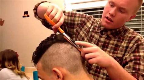 free haircuts in boston vlog boston gives a haircut youtube