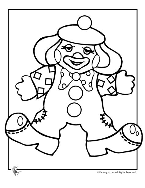 printable coloring pages clowns printable clown coloring pages az coloring pages