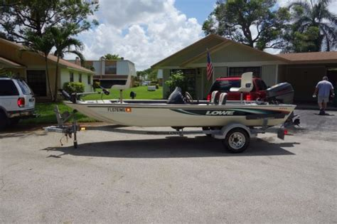 lowe boats bass pro 1999 lowe 170 bass boat for sale in fort lauderdale