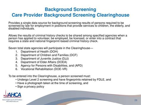 Level Two Background Check Florida Background Screening Providers Images
