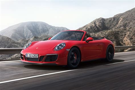 2018 Porsche 911 Convertible Pricing For Sale Edmunds