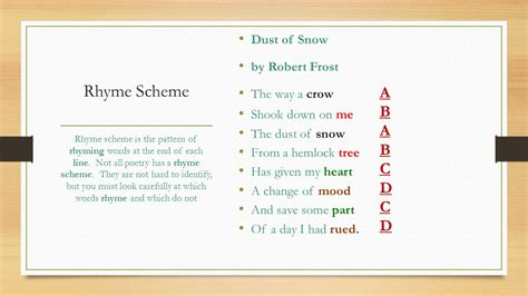 abcd pattern poem an introduction to poetry ppt video online download