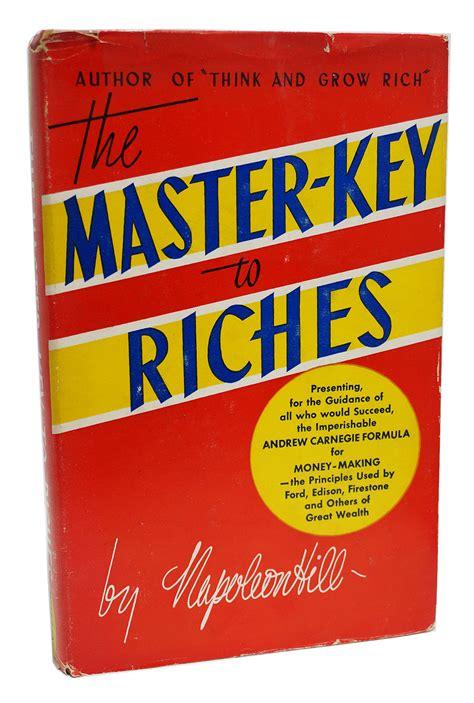 master key to riches napoleon hill pdf the master key to riches by napoleon hill pdf