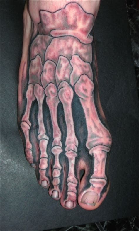 dog bone tattoo designs paw on foot