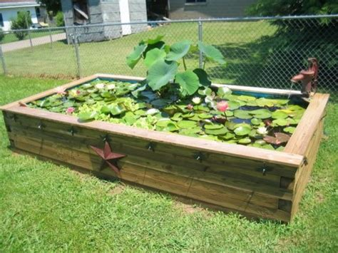 Raised Garden Pond Ideas Diy Water Garden Ideas 54 Pond Garden Ideas And Design Inspiration Diy Craft Ideas Gardening