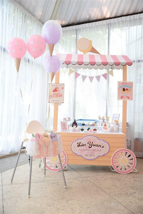 ice cream birthday party ideas kara s party ideas ice cream parlor birthday kara s
