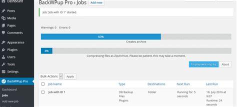 dropbox backup how to backup wordpress to dropbox backwpup docs