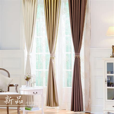aliexpress com buy 2016 classic sheer curtains for aliexpress com buy modern curtains for living room full