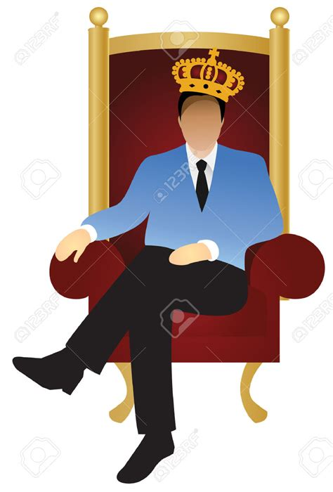 on king king sitting on throne clipart clipartxtras
