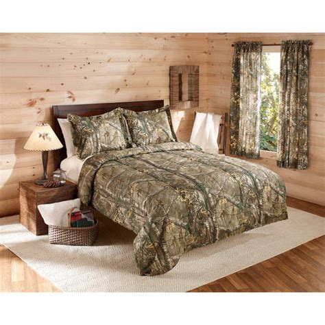 camouflage realtree bedding comforter set w shams camo