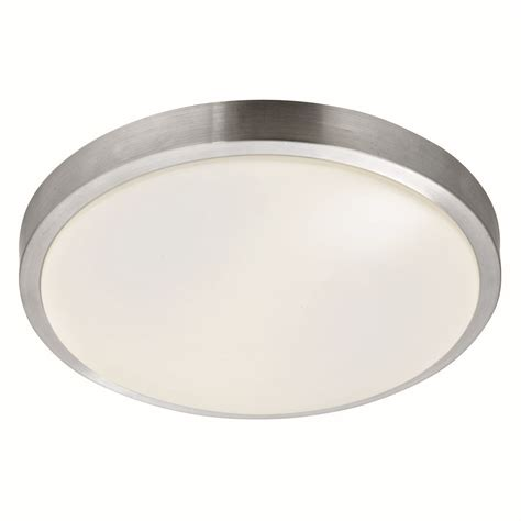 Flush Bathroom Ceiling Light Bathroom Ip44 Flush Ceiling Light Aluminium