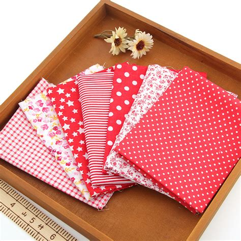 Sewing Quilt Squares by Cotton 7 Assorted Pre Cut 10 Squares Quilt Fabric Diy