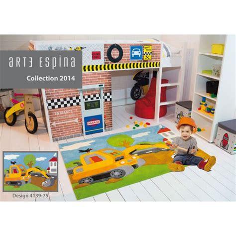 tapis chambre bébé garcon tapis enfant pelleteuse arte espina tapis chambre