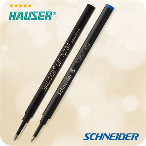 hauser pen hauser bill 707sf germany ink refill rollerball pen