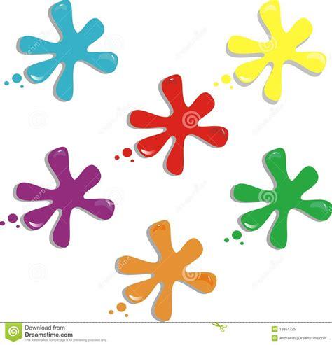 spot colors spots of color clipart clipground