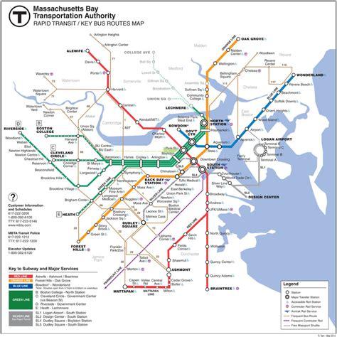 boston transit map mbta subway pictures to pin on pinsdaddy