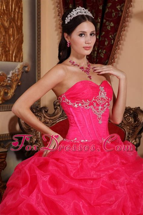 design your quinceanera dress game sweetheart organza beading designer hot pink quinceanera dress