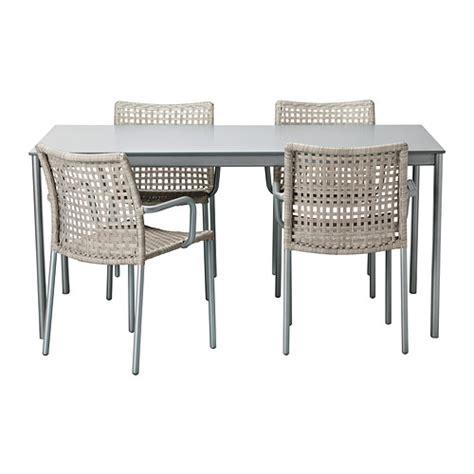 Patio Table Set Ikea Outdoor Aluminum Ikea Enholmen Dining Table Chair Set