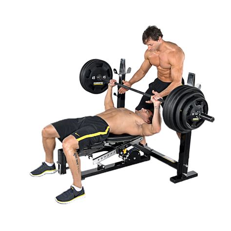 powertec bench press powertec workbench olympic bench wb ob11 incredibody