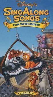 disney sing  songs fun   disney wiki