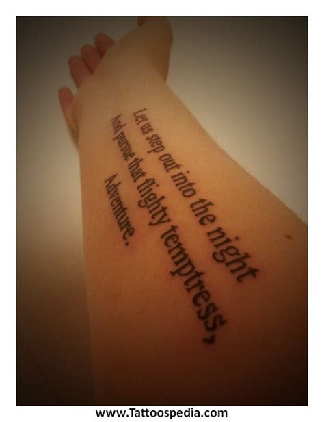 fear tattoos no fear quotes quotesgram