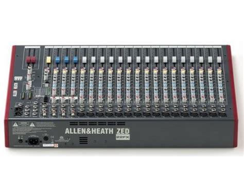 Mixer Allen Heath Zed 22 Fx allen heath zed 22 fx doctor