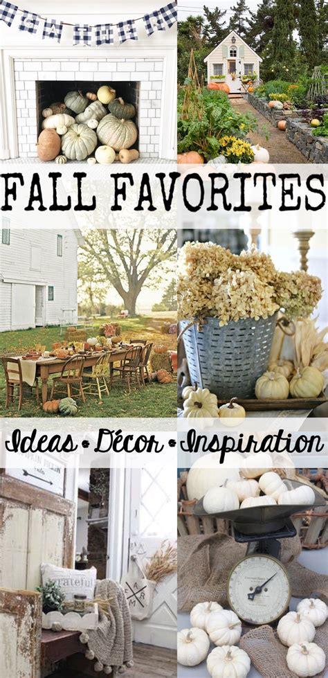 fall favorites ideas decor inspiration house of hargrove