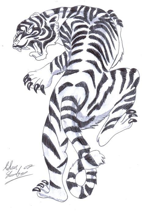 white tiger tattoo designs white tiger by aidan8500 on deviantart