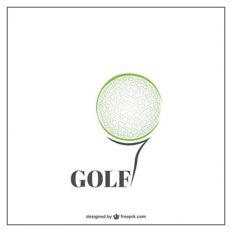 gulf logo vector golf tree logo template vector free