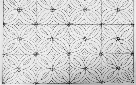 17 motif batik yang mudah digambar untuk anak smp dan mudah ditiru