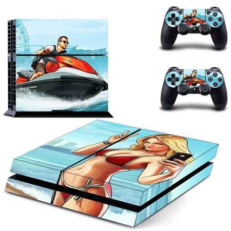 grand theft auto 5 console grand theft auto 5 gta v ps4 skin decal for console and