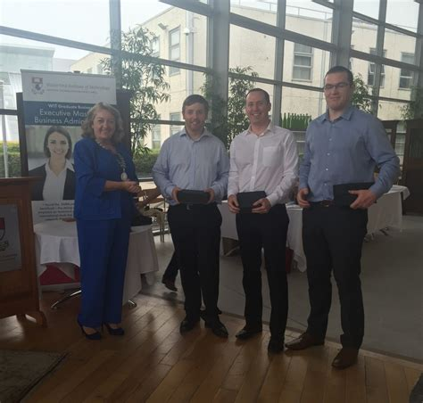 Dcu Mba by Dcu Executive Mba Student Wins Special Award