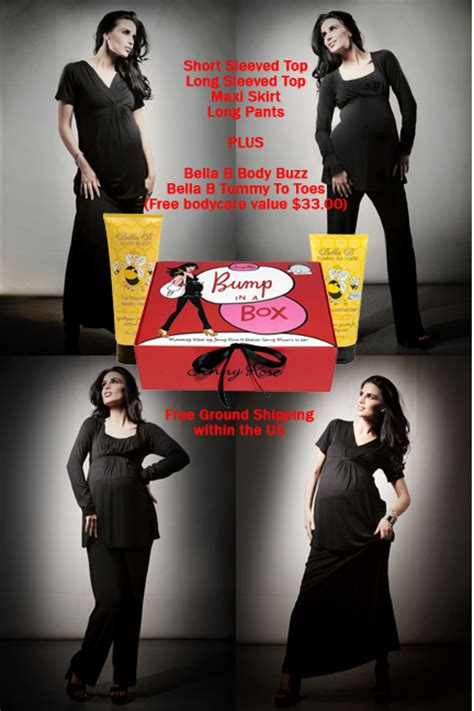 bump in a box 6 maternity starter kit - Maternity Wardrobe In A Box