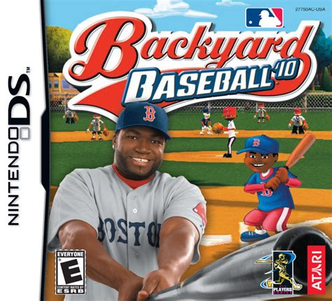 backyard baseball 10 backyard baseball 10 2009 nintendo ds box cover art
