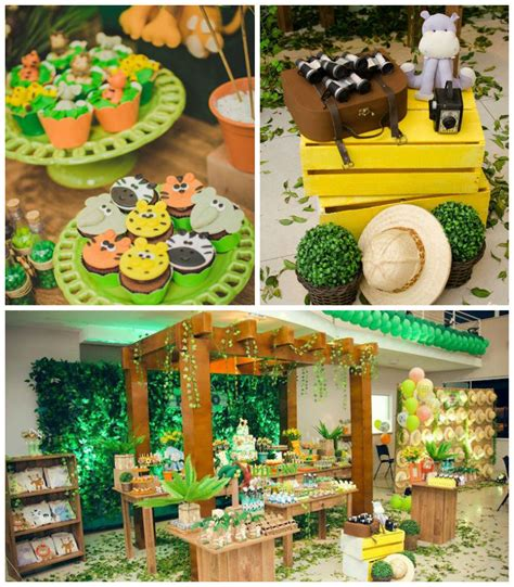 jungle themed birthday party jungle safari birthday party via kara s party ideas