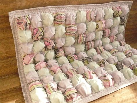 Baby Puff Quilt by Baby Quilt Baby Blanket Puff Biscuit Quilt By Felixfunhouse