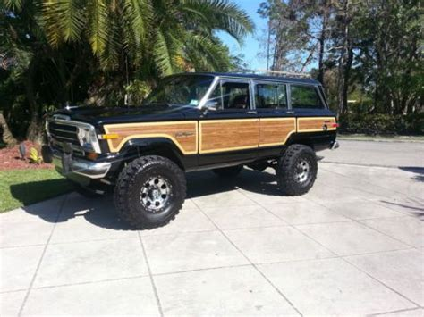 1989 jeep wagoneer lifted sell used 1989 jeep grand wagoneer 360 4x4 lifted amazing