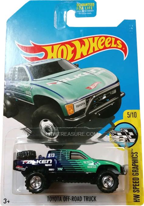 Hotwheels Toyota Road Truck 2 toyota road truck wheels 2017 treasure hunt