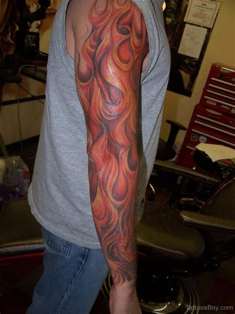 flame sleeve tattoos tattoos designs pictures page 3