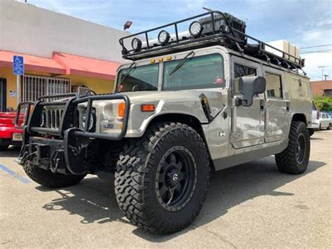 auto air conditioning repair 2003 hummer h1 instrument cluster hummer h1 for sale carsforsale com 174