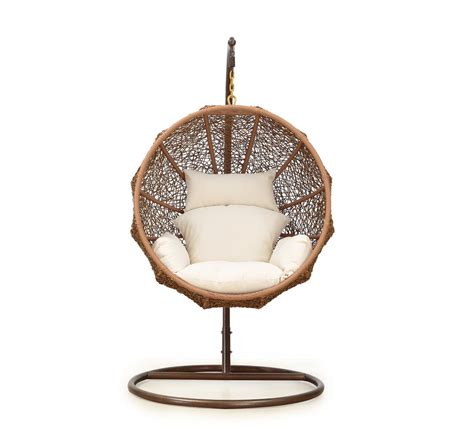 Hanging Chair by Review Wicker Hanging Chair With Stand By Island Bay