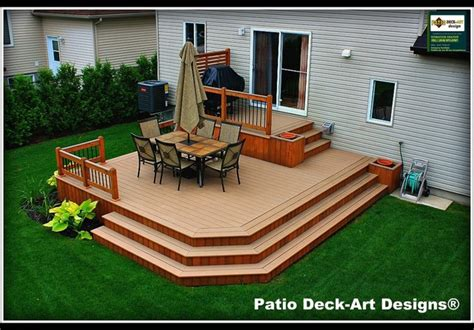 Deck With Patio Designs with Outdoor Decks And Patios Home Interior Design