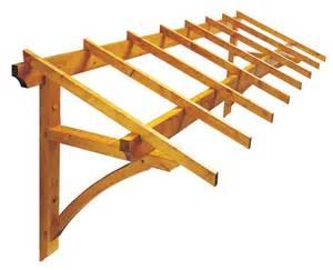 auvents bois kit auvent bois firenze porte de garage 325 x 120 cm