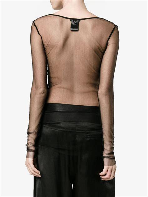 Sheer Sleeve Top sheer black top sleeve www imgkid the image
