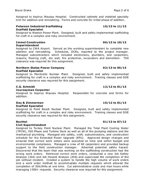 Certifications On Resume by Bruce Resume And Certifications
